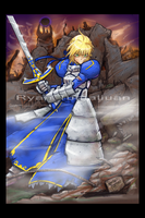 Saber is Bad Ass by sykoeent