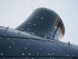 Friendly Alien - Nozzle -Kunsthaus Graz by CeaSanddorn