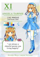 HMLS OC - Angela Tawnie (Update) by Piyuka