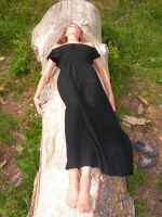 Laying on tree 2 by legionista-stock