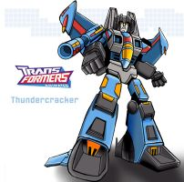 Transformers Thundercracker by ninjha