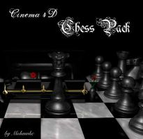 Cinema 4D Chess Pack by darkness-stock