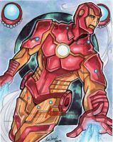 Artist's Proof: Iron Man by skardash