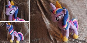Rainbow Powered Princess Twilght Sparkle Plushie by LiChiba