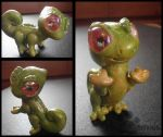 :Poseable Lizard Clay Figurine: by PrePAWSterous