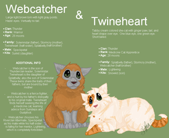 Webcatcher and Twineheart by Shadowgaze