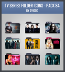 TV Series Folder Icons - Pack 84 by DYIDDO