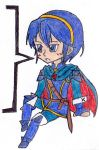 FEA-Marth Chibi color by Nintendraw