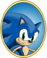 Framed Sonic by Gamma-V