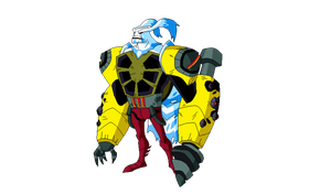 Ben 10 omniverse Aggregor by TheRedJoker351