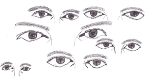 Learning to Draw - Day 30 - Eyes by JoshuaMatulin