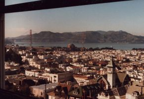 View from Home in the City - 1984 by Gianni36
