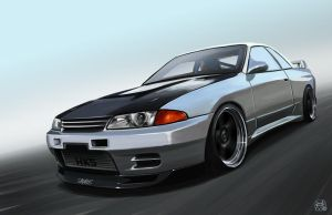 Paul Mann's GTR R32 by Nism088