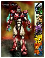 Guyver Mark IV by slythai