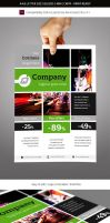 Corporate Business Commerce Flyer Template by renefranceschi