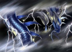 Lord Of Storm And Thunder by LeviaDraconia