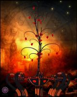 The Tree of Love and Eternity by Jenabii