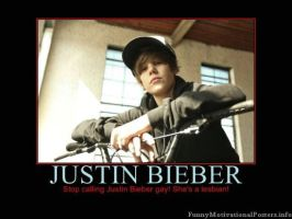 Justin is NOT GAY SHES... by xxBrittnayHedgiexx