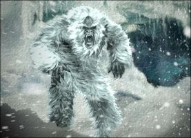 Yeti by tentaspyjacksonz