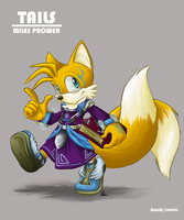 DHS Character Sheet - Tails by Mejin