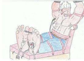 Elfman tickled by malefeet4ever