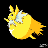 Jolteon Inflatable by ChrONa-SarAy