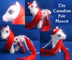 Real Custom Canada Fair Mascot by RevRuby