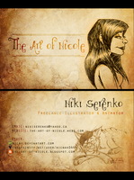 Business Card 2013 by Nicay