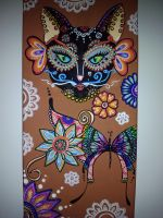 catrina cat by TulasiStocker