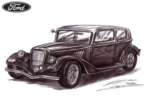 Classic British Ford by toyonda