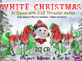 White Christmas Banner by Pinktiger1978