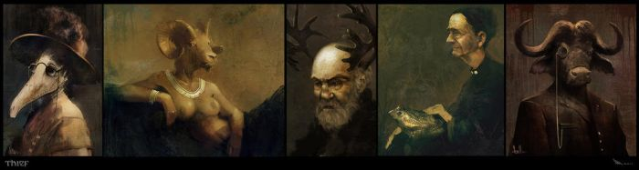 Thief - Paintings by MatLatArt