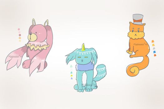 Point Adoptables - (OPEN) 15 pts each by Makikuri