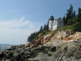 Bass Harbor Lighthouse 4 by Reyphotos