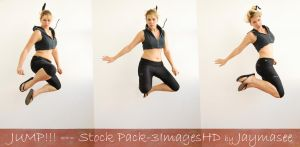 Action Poses Serie-Jump by Jaymasee
