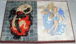 Chobits Floorpainting Angels by Mako-chan89