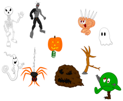 Jellybob's Enemy Concepts: Haunted Collection by Lugbzurg