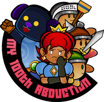 My 100th Abduction Logo (Twine Version) by Patt-Ytto