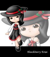 Blackberry Rose by Jdan-S