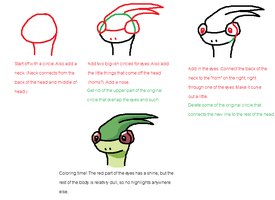 How to Draw a Flygon by DarkRapidash