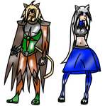 Adnot's Finest: Ralomus + Asura- Kechi's parents by SelTheQueenSeaia