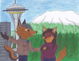 Contest Entry: Max and Zoe by Fox-under-the-stars