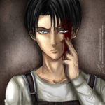 Levi Ackerman -  Injured by HerzyDIshtar