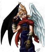 Cloud and the Black Materia by SilverKnight16