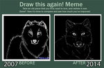 Meme: Before and After by GralMaka