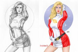 Saturn Girl by Chester by Groovygoddess