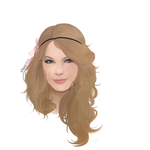 portrait painting taylor swift by G-zal3zaa-somu
