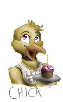 FNAF - Chica the Chicken by LividCreativity