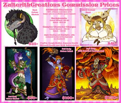 ZulterithCreations Commission Prices 2017 by ZulterithCreations