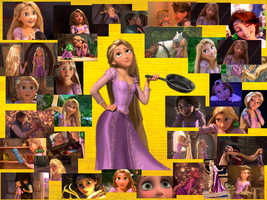 Tangled Rapunzel  by courtneyfanTD